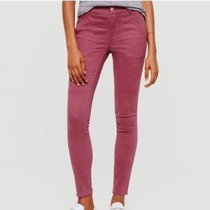 Lou & Grey Mauve color Skinny pants